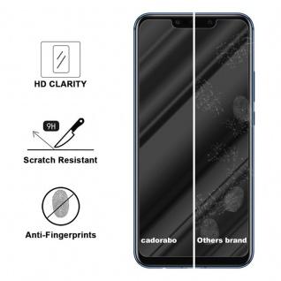 Cadorabo Panzer Folie für Huawei Mate 20 LITE - Schutzfolie in KRISTALL KLAR ? Gehärtetes (Tempered) Display-Schutzglas in 9H Härte mit 3D Touch Kompatibilität - Vorschau 3