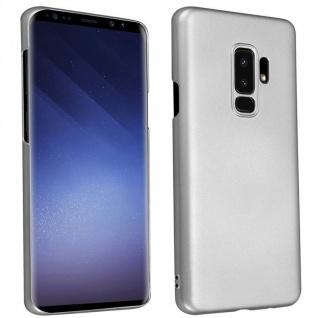 Cadorabo Hülle für Samsung Galaxy S9 PLUS in METALL SILBER ? Hardcase Handyhülle aus Plastik gegen Kratzer und Stöße ? Schutzhülle Bumper Ultra Slim Back Case Hard Cover
