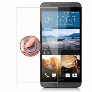 Cadorabo Panzer Folie für HTC ONE E9 - Schutzfolie in KRISTALL KLAR - Gehärtetes (Tempered) Display-Schutzglas in 9H Härte mit 3D Touch Kompatibilität - Vorschau 4