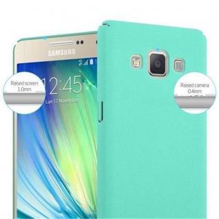 Cadorabo Hülle für Samsung Galaxy A5 2015 in FROSTY GRÜN - Hardcase Handyhülle aus Plastik gegen Kratzer und Stöße - Schutzhülle Bumper Ultra Slim Back Case Hard Cover - Vorschau 5