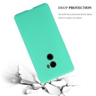 Cadorabo Hülle für Xiaomi Mi Mix 2 in FROSTY GRÜN - Hardcase Handyhülle aus Plastik gegen Kratzer und Stöße - Schutzhülle Bumper Ultra Slim Back Case Hard Cover - Vorschau 5