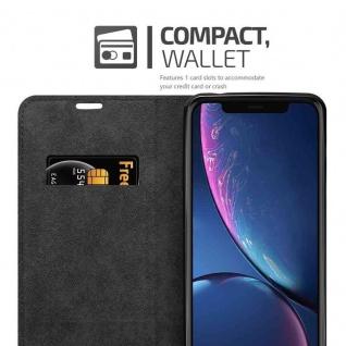 Cadorabo Hülle für Apple iPhone 11 PRO MAX (XI PRO MAX) in APFEL ROT - Handyhülle mit Magnetverschluss, Standfunktion und Kartenfach - Case Cover Schutzhülle Etui Tasche Book Klapp Style - Vorschau 3