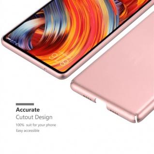 Cadorabo Hülle für Xiaomi Mi Mix 2 in METALL ROSÉ GOLD ? Hardcase Handyhülle aus Plastik gegen Kratzer und Stöße ? Schutzhülle Bumper Ultra Slim Back Case Hard Cover - Vorschau 5