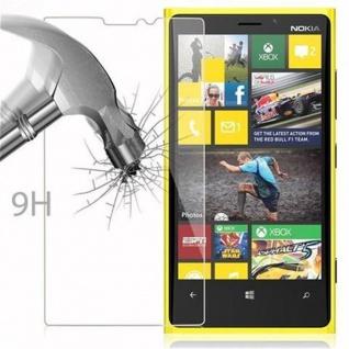 Cadorabo Panzer Folie für Nokia Lumia 920 - Schutzfolie in KRISTALL KLAR - Gehärtetes (Tempered) Display-Schutzglas in 9H Härte mit 3D Touch Kompatibilität - Vorschau 3