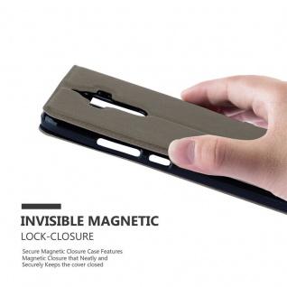 Cadorabo Hülle für Huawei MATE 9 in STEIN BRAUN ? Handyhülle mit Magnetverschluss, Standfunktion und 2 Sichtfenstern ? Case Cover Schutzhülle Etui Tasche Book Klapp Style - Vorschau 5