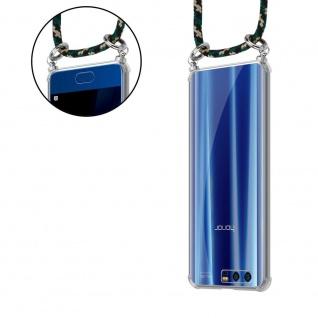 Cadorabo Handy Kette für Honor 9 in CAMOUFLAGE Silikon Necklace Umhänge Hülle mit Silber Ringen, Kordel Band Schnur und abnehmbarem Etui Schutzhülle - Vorschau 5
