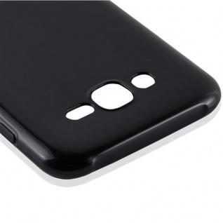 Cadorabo Hülle für Samsung Galaxy J7 2015 in SCHWARZ - Handyhülle aus flexiblem TPU Silikon - Silikonhülle Schutzhülle Ultra Slim Soft Back Cover Case Bumper - Vorschau 4