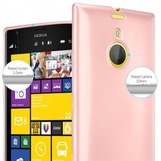 Cadorabo Hülle für Nokia Lumia 1520 in METALLIC ROSÉ GOLD - Handyhülle aus flexiblem TPU Silikon - Silikonhülle Schutzhülle Ultra Slim Soft Back Cover Case Bumper - Vorschau 4