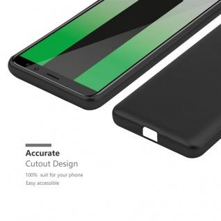 Cadorabo Hülle für Huawei MATE 10 LITE in METALLIC SCHWARZ - Handyhülle aus flexiblem TPU Silikon - Silikonhülle Schutzhülle Ultra Slim Soft Back Cover Case Bumper - Vorschau 5
