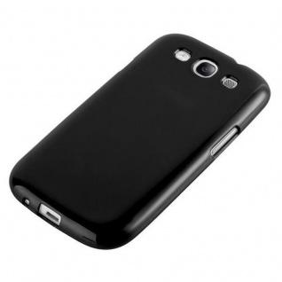 Cadorabo Hülle für Samsung Galaxy S3 / S3 NEO in JELLY SCHWARZ ? Handyhülle aus flexiblem TPU Silikon ? Silikonhülle Schutzhülle Ultra Slim Soft Back Cover Case Bumper - Vorschau 3