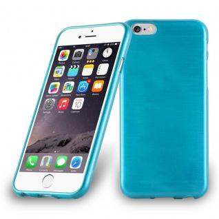 Cadorabo Hülle für Apple iPhone 6 PLUS / iPhone 6S PLUS in TÜRKIS Handyhülle aus flexiblem TPU Silikon Silikonhülle Schutzhülle Ultra Slim Soft Back Cover Case Bumper