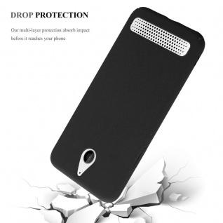 Cadorabo Hülle für Sony Xperia E1 in FROSTY SCHWARZ - Hardcase Handyhülle aus Plastik gegen Kratzer und Stöße - Schutzhülle Bumper Ultra Slim Back Case Hard Cover - Vorschau 4