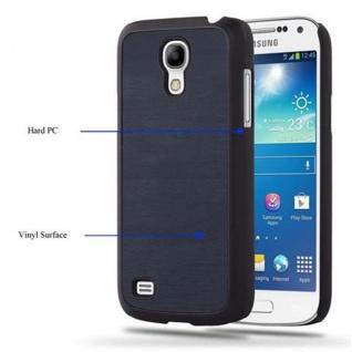 Cadorabo Hülle für Samsung Galaxy S4 MINI in WOODY BLAU - Hardcase Handyhülle aus Plastik gegen Kratzer und Stöße - Schutzhülle Bumper Ultra Slim Back Case Hard Cover - Vorschau 3