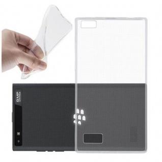 Cadorabo Hülle für Blackberry LEAP / Z20 in VOLL TRANSPARENT - Handyhülle aus flexiblem TPU Silikon - Silikonhülle Schutzhülle Ultra Slim Soft Back Cover Case Bumper