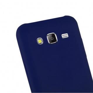 Cadorabo Hülle für Samsung Galaxy J5 2015 in CANDY DUNKEL BLAU - Handyhülle aus flexiblem TPU Silikon - Silikonhülle Schutzhülle Ultra Slim Soft Back Cover Case Bumper - Vorschau 5