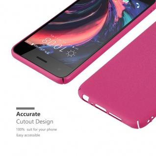 Cadorabo Hülle für HTC One A9 in FROSTY PINK - Hardcase Handyhülle aus Plastik gegen Kratzer und Stöße - Schutzhülle Bumper Ultra Slim Back Case Hard Cover - Vorschau 5