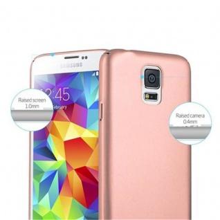 Cadorabo Hülle für Samsung Galaxy S5 / S5 NEO in METALL ROSE GOLD - Hardcase Handyhülle aus Plastik gegen Kratzer und Stöße - Schutzhülle Bumper Ultra Slim Back Case Hard Cover - Vorschau 3