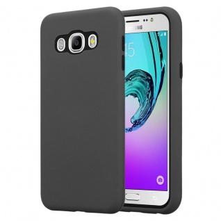 Cadorabo Hülle für Samsung Galaxy J7 2016 in QUARZ GRAU ? Hybrid Handyhülle mit TPU Silikon Innenseite und 2teiliger Kunststoff Außenseite ? Schutzhülle Hybrid Hardcase Back Case
