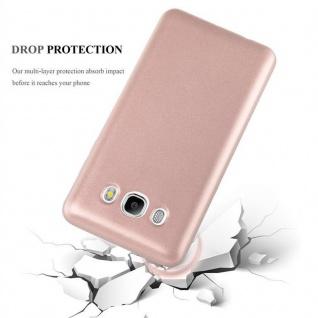 Cadorabo Hülle für Samsung Galaxy J5 2016 in METALLIC ROSÉ GOLD - Handyhülle aus flexiblem TPU Silikon - Silikonhülle Schutzhülle Ultra Slim Soft Back Cover Case Bumper - Vorschau 4