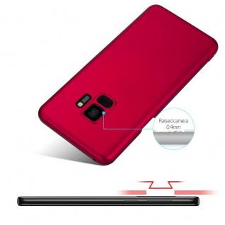 Cadorabo Hülle für Samsung Galaxy S9 in METALL ROT - Hardcase Handyhülle aus Plastik gegen Kratzer und Stöße - Schutzhülle Bumper Ultra Slim Back Case Hard Cover - Vorschau 4
