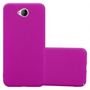 Cadorabo Hülle für Nokia Lumia 650 in FROSTY PINK - Hardcase Handyhülle aus Plastik gegen Kratzer und Stöße - Schutzhülle Bumper Ultra Slim Back Case Hard Cover