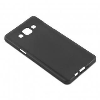 Cadorabo Hülle für Samsung Galaxy A5 2015 in SCHWARZ - Handyhülle aus flexiblem TPU Silikon - Silikonhülle Schutzhülle Ultra Slim Soft Back Cover Case Bumper - Vorschau 3