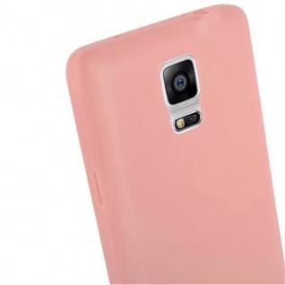 Cadorabo Hülle für Samsung Galaxy NOTE 4 in CANDY ROSA - Handyhülle aus flexiblem TPU Silikon - Silikonhülle Schutzhülle Ultra Slim Soft Back Cover Case Bumper - Vorschau 5