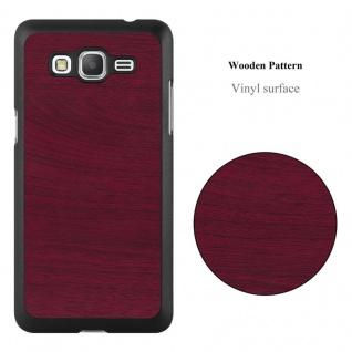 Cadorabo Hülle für Samsung Galaxy J5 2015 in WOODY ROT ? Hardcase Handyhülle aus Plastik gegen Kratzer und Stöße ? Schutzhülle Bumper Ultra Slim Back Case Hard Cover - Vorschau 2