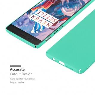 Cadorabo Hülle für OnePlus 3 / 3T in FROSTY GRÜN - Hardcase Handyhülle aus Plastik gegen Kratzer und Stöße - Schutzhülle Bumper Ultra Slim Back Case Hard Cover - Vorschau 5