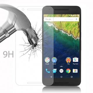 Cadorabo Panzer Folie für LG Google NEXUS 6P - Schutzfolie in KRISTALL KLAR - Gehärtetes (Tempered) Display-Schutzglas in 9H Härte mit 3D Touch Kompatibilität - Vorschau 3