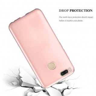 Cadorabo Hülle für Xiaomi Mi A1 / 5X in METALLIC ROSÉ GOLD - Handyhülle aus flexiblem TPU Silikon - Silikonhülle Schutzhülle Ultra Slim Soft Back Cover Case Bumper - Vorschau 3