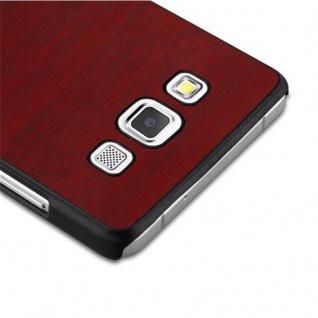 Cadorabo Hülle für Samsung Galaxy A5 2015 in WOODY ROT ? Hardcase Handyhülle aus Plastik gegen Kratzer und Stöße ? Schutzhülle Bumper Ultra Slim Back Case Hard Cover - Vorschau 4