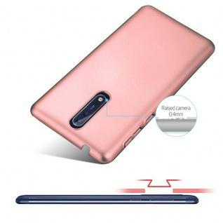 Cadorabo Hülle für Nokia 8 2017 in METALL ROSÉ GOLD - Hardcase Handyhülle aus Plastik gegen Kratzer und Stöße - Schutzhülle Bumper Ultra Slim Back Case Hard Cover - Vorschau 4