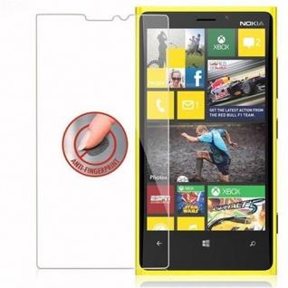 Cadorabo Panzer Folie für Nokia Lumia 920 - Schutzfolie in KRISTALL KLAR - Gehärtetes (Tempered) Display-Schutzglas in 9H Härte mit 3D Touch Kompatibilität - Vorschau 4