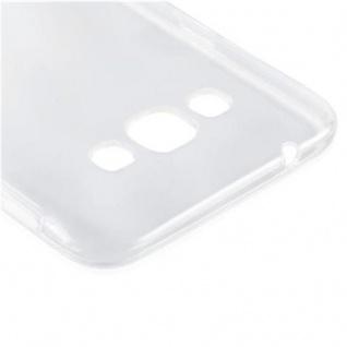 Cadorabo Hülle für Samsung Galaxy A8 2015 (5) - Hülle in VOLL TRANSPARENT ? Handyhülle aus TPU Silikon im Ultra Slim 'AIR' Design - Silikonhülle Schutzhülle Soft Back Cover Case Bumper - Vorschau 4