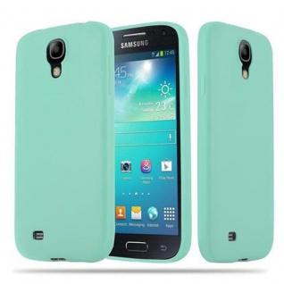 Cadorabo Hülle für Samsung Galaxy S4 in CANDY BLAU - Handyhülle aus flexiblem TPU Silikon - Silikonhülle Schutzhülle Ultra Slim Soft Back Cover Case Bumper