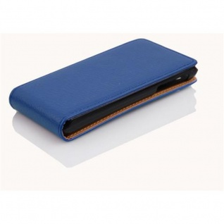 Cadorabo Hülle für Sony Xperia J in KÖNIGS BLAU - Handyhülle im Flip Design aus strukturiertem Kunstleder - Case Cover Schutzhülle Etui Tasche Book Klapp Style - Vorschau 3