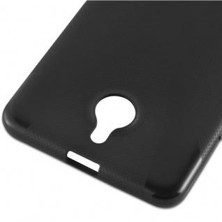 Cadorabo Hülle für Nokia Lumia 850 in OXID SCHWARZ ? Handyhülle aus flexiblem TPU Silikon ? Silikonhülle Schutzhülle Ultra Slim Soft Back Cover Case Bumper - Vorschau 3