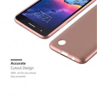 Cadorabo Hülle für LG K8 2017 in METALLIC ROSE GOLD - Handyhülle aus flexiblem TPU Silikon - Silikonhülle Schutzhülle Ultra Slim Soft Back Cover Case Bumper - Vorschau 2