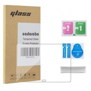 Cadorabo Panzer Folie für Samsung Galaxy TAB PRO - Schutzfolie in KRISTALL KLAR - Gehärtetes (Tempered) Display-Schutzglas in 9H Härte mit 3D Touch Kompatibilität