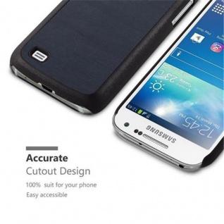 Cadorabo Hülle für Samsung Galaxy S4 MINI in WOODY BLAU - Hardcase Handyhülle aus Plastik gegen Kratzer und Stöße - Schutzhülle Bumper Ultra Slim Back Case Hard Cover - Vorschau 2