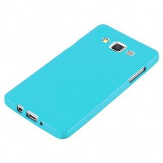 Cadorabo Hülle für Samsung Galaxy A5 2015 in JELLY HELL BLAU ? Handyhülle aus flexiblem TPU Silikon ? Silikonhülle Schutzhülle Ultra Slim Soft Back Cover Case Bumper - Vorschau 4