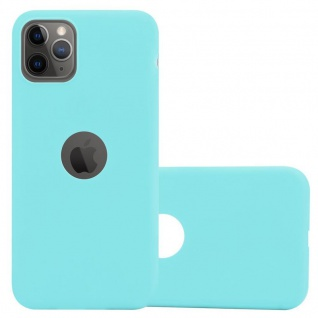 Cadorabo Hülle für Apple iPhone 11 PRO (XI PRO) in CANDY BLAU - Handyhülle aus flexiblem TPU Silikon - Silikonhülle Schutzhülle Ultra Slim Soft Back Cover Case Bumper