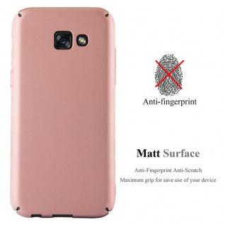 Cadorabo Hülle für Samsung Galaxy A5 2017 in METALL ROSE GOLD ? Hardcase Handyhülle aus Plastik gegen Kratzer und Stöße ? Schutzhülle Bumper Ultra Slim Back Case Hard Cover - Vorschau 2