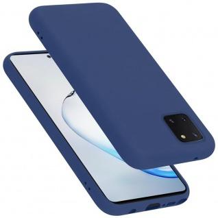 Cadorabo Hülle für Samsung Galaxy A81 / NOTE 10 LITE / M60S in LIQUID BLAU Handyhülle aus flexiblem TPU Silikon Silikonhülle Schutzhülle Ultra Slim Soft Back Cover Case Bumper