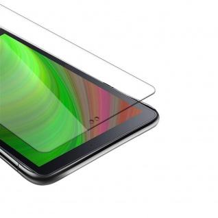 """Cadorabo Panzer Folie für Samsung Galaxy Tab A(10.5"""") Schutzfolie in KRISTALL KLAR Gehärtetes (Tempered) Display-Schutzglas in 9H Härte mit 3D Touch Kompatibilität"""
