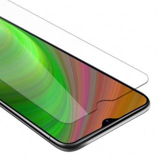 Cadorabo Panzer Folie für Samsung Galaxy M30s - Schutzfolie in KRISTALL KLAR - Gehärtetes (Tempered) Display-Schutzglas in 9H Härte mit 3D Touch Kompatibilität