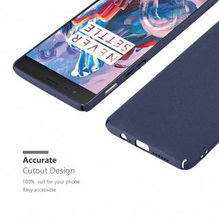 Cadorabo Hülle für OnePlus 3 / 3T in FROSTY BLAU - Hardcase Handyhülle aus Plastik gegen Kratzer und Stöße - Schutzhülle Bumper Ultra Slim Back Case Hard Cover - Vorschau 5