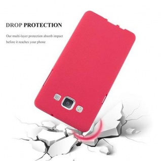 Cadorabo Hülle für Samsung Galaxy A5 2015 in FROST ROT - Handyhülle aus flexiblem TPU Silikon - Silikonhülle Schutzhülle Ultra Slim Soft Back Cover Case Bumper - Vorschau 4