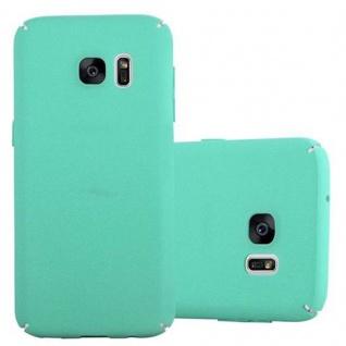 Cadorabo Hülle für Samsung Galaxy S7 in FROSTY GRÜN - Hardcase Handyhülle aus Plastik gegen Kratzer und Stöße - Schutzhülle Bumper Ultra Slim Back Case Hard Cover